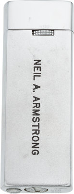 """Neil Armstrong: American Fighter Pilots Association Personalized """"Neil A. Armstrong"""" Butane Gas Lighter in the..."""