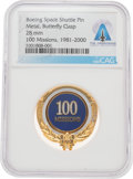 Explorers:Space Exploration, Space Shuttle: Boeing Space Shuttle 100 Missions Commemorative Pin Directly From The Armstrong Family Collection™, Certified a...
