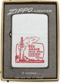 Explorers:Space Exploration, Neil Armstrong: Red Adair Wild Well Control 1969 Zippo Lighter in the Original Box Directly From The Armstrong Family Collecti...