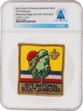 Explorers:Space Exploration, Boy Scouts: 1973 National Scout Jamboree Patch Directly From The Armstrong Family Collection™, Certified and Encapsulated by C...
