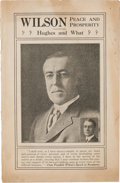 Political:Small Paper (1896-present), James M. Cox: 1916 Wilson for President and Cox for Governor Coattail Promotion Booklet....