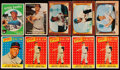 Baseball Cards:Lots, 1955 to 1959 Topps and Bowman Collection (47). ...
