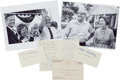 Autographs:Celebrities, Neil Armstrong: Parents Viola and Stephen Armstrong Autographs with Photos....