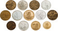 Explorers:Space Exploration, Apollo 11 Medals and Coins: Collection of Thirteen....
