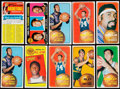 Basketball Cards:Lots, 1970/71 Topps Basketball Collection (143). ...