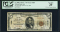 National Bank Notes:Missouri, Jefferson City, MO - $5 1929 Ty. 1 The First NB Ch. # 1809. ...