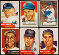 Baseball Cards:Lots, 1952-53 Topps Baseball Collection (116)....