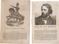Political:Small Paper (pre-1896), Winfield Scott and John C. Frémont: Pair of Softbound CampaignBiographies. ... (Total: 2 Items)
