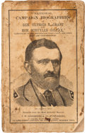 Political:Small Paper (pre-1896), Ulysses S. Grant: Campaign Biography in Pictorial Wraps....