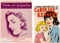 Political:Small Paper (1896-present), [John F. Kennedy]: Jacqueline and Caroline Kennedy Sheet Music and Comic Book.... (Total: 2 Items)