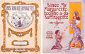 Political:Small Paper (1896-present), Woman's Suffrage: Two Pieces of Pictorial Sheet Music.... (Total: 2 Items)