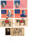 Political:Small Paper (1896-present), William Howard Taft and William Jennings Bryan: Seven Postcards....
