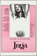 """Movie Posters:Sexploitation, Inga & Others Lot (Cinemation Industries, 1968). One Sheets (3) (27"""" X 41"""" & 28"""" X 41""""). Sexploitation.. ... (Total: 3 Items)"""