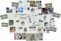 Explorers:Space Exploration, Apollo 11: Collection of Nineteen Philatelic Covers, Several Signed. ...