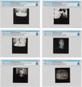 Explorers:Space Exploration, Gemini 8: Group of Six Television Screen Photographs of the CBS Coverage of the Gemini 8 Mission From The Armstrong Family Col... (Total: 6 Items)