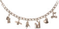 Explorers:Space Exploration, Jewelry: Apollo 11 Themed Sterling Silver Charm Bracelet Directly From The Armstrong Family Collection™, Certified by Collecti...