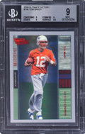 Football Cards:Singles (1970-Now), 2000 Upper Deck Ultimate Victory Tom Brady #146 BGS Mint 9 - Numbered 1645/2000....