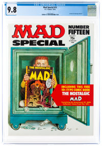 MAD Special #15 (EC, 1974) CGC NM/MT 9.8 Off-white to white pages