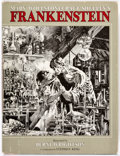 Books:Hardcover, Bernie Wrightson Frankenstein Signed First Edition Hard Cover Book (Dodd, Mead, and Company, 1983)....