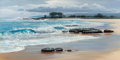 Fine Art - Painting, American, Peter Ellenshaw (British/American, 1913-2007). The ComingTide. Oil on canvas. 24 x 48 inches (61.0 x 121.9 cm). Signed...