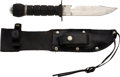 Explorers:Space Exploration, Neil Armstrong's Survival Knife Directly from The Armstrong Family Collection™, Certified by Collectibles Authentication Guara...