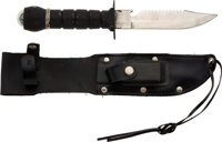 Neil Armstrong's Survival Knife Directly from The Armstrong Family Collection™, Certified by Collectibles Authentication...