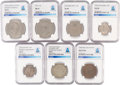 Explorers:Space Exploration, World Collection of Seven Coins: Colombia; Great Britain; Ireland (Two); Panama; United States; and USSR Directly From...