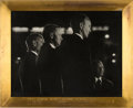 "Explorers:Space Exploration, Apollo 11 Extravaganza Photo of the Apollo 11 Crew with ""Friend"" Frank Sinatra, in Deluxe Framed Display, Directly From The Ar..."