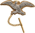 Explorers:Space Exploration, Jewelry: Neil Armstrong's 14K Gold Eagle Tie Tack Directly From The Armstrong Family Collection™, Certified by Collectibles Au...