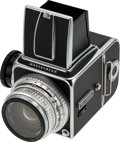 Explorers:Space Exploration, Neil Armstrong's 1970 Model Hasselblad 500C Camera with Zeiss Planar f/2.8, 80mm Lens and Original Box, Directly From The ...