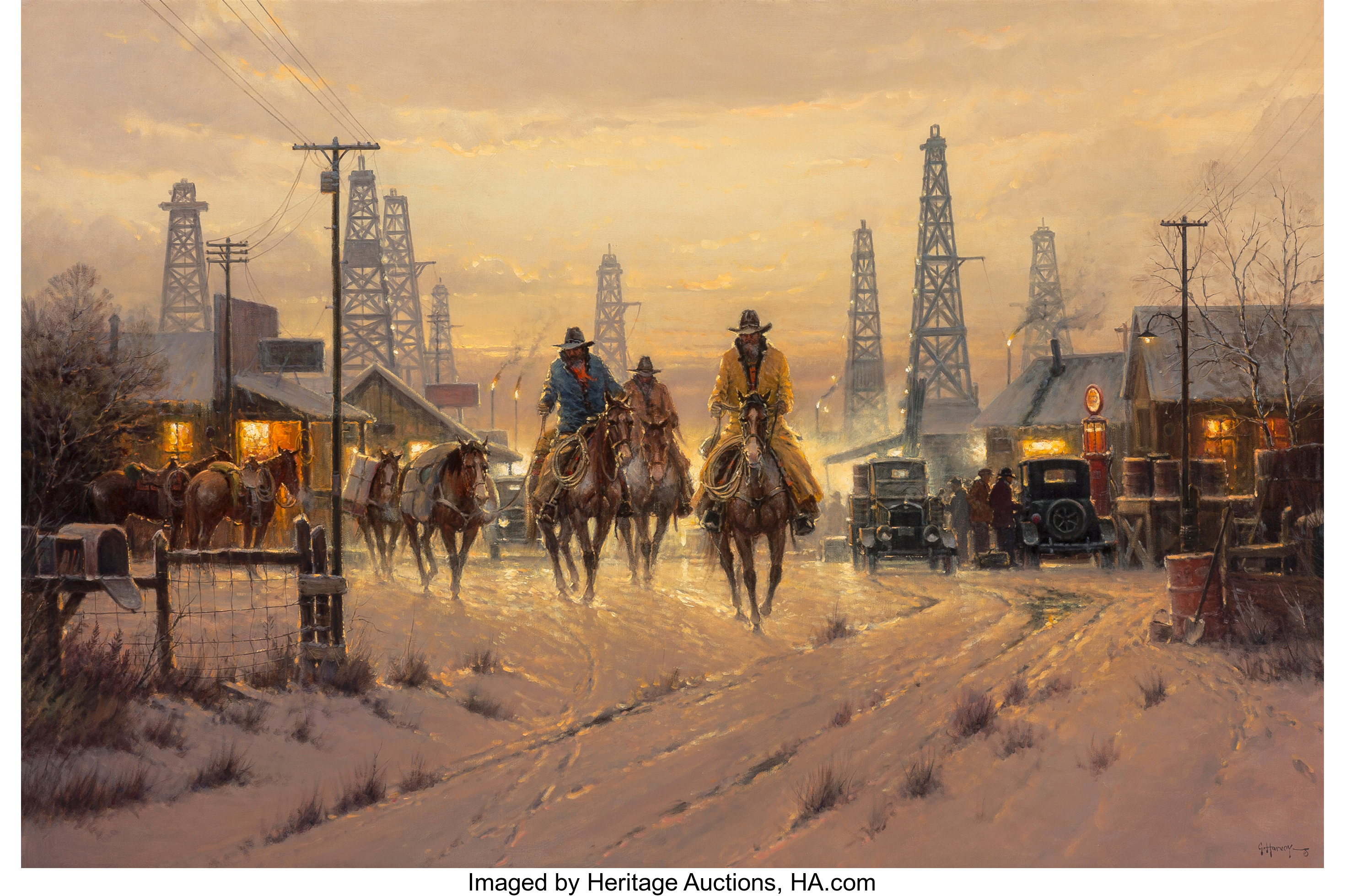G Gerald Harvey Jones Harvey Paintings For Sale Value Guide Heritage Auctions
