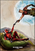 """Movie Posters:Action, Deadpool 2 (20th Century Fox, 2018). International One Sheets (2) DS Advance Styles B and C & One Sheet (27"""" X 40"""") DS Advan... (Total: 3 Items)"""