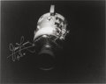 Explorers:Space Exploration, James Lovell Signed Apollo 13 Damaged Service Module Photo....