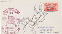 Apollo 13 Flight Crew-Signed Pacific Recovery Force Cover