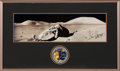 "Explorers:Space Exploration, Gene Cernan Signed Large Apollo 17 ""Tracy's Rock"" Panoramic Lunar Surface Photo in with Novaspace Certificate of Authenticity,..."