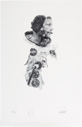 Explorers:Space Exploration, Neil Armstrong and Paul Calle Signed Limited Edition Print, #959/1000. ...