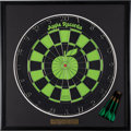 Music Memorabilia:Memorabilia, Beatles Apple Records Dart Board (1968)....