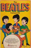 Music Memorabilia:Toys, Beatles Cartoon Kit (Colorforms/NEMS, 1966)....