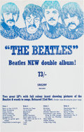 Music Memorabilia:Posters, The Beatles Promotional 1968 White Album Flyer (UK). ...
