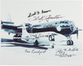 Explorers:Space Exploration, Bell X-1: Photo Signed by Seven Test Pilots. ...