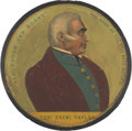 Political:Small Miscellaneous (pre-1896), Zachary Taylor: Full Color Papier-Mâché Snuff Box....
