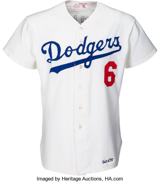1975 Steve Garvey Game Worn Los Angeles Dodgers Jersey. ...  d6965e7092f