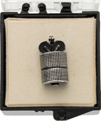 Neil Armstrong: Crest-Craft Intelstat IV F-4 Satellite Tie Tack Directly From The Armstrong Family Collection™, Certifie...