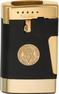 Neil Armstrong: Cased Ronson Butane Lighter With the Seal of the President of the United States Directly From The Armstr...