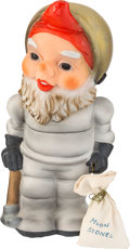 Explorers:Space Exploration, Astronaut Garden Gnome with Moon Rocks Directly From The Armstrong Family Collection™, Certified by Collectibles Authenticatio...