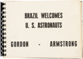 Explorers:Space Exploration, Gemini Goodwill Tour: Scrapbook from Brazil Directly From The Armstrong Family Collection™, Certified by Collectibles Authenti...