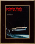 Explorers:Space Exploration, Gemini 8: Aviation Week Plaque of Gemini 8 Inspecting Agena Directly From The Armstrong Family Collection™, Certif...