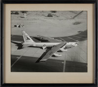 X-15: United States Air Force Boeing B-52A Stratofortress Aircraft Photo, in Frame, Directly From The Armstrong Fa