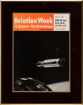 Explorers:Space Exploration, Gemini 8: Aviation Week Plaque of Gemini 8 Approaching Agena Directly From The Armstrong Family Collection™, Certi...