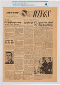 Explorers:Space Exploration, X-15: Desert Wings Edwards Air Force Base Publication Dated January 5, 1962, with Neil Armstrong Cover Photo, ...